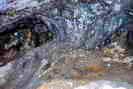 Mines d'argent du Fournel - Pilier résiduel de filon - Chantier médiéval,  h = 1,20 m